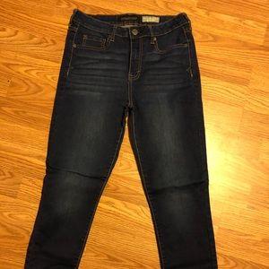 Aeropostale High Waisted Jegging Jeans 6 short